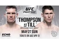 UFC LIVERPOOL TICKET