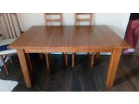 Ikea dining table 6-8 seater (no chairs)