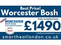 Worcester & Vaillant Boilers Supply & Fit £1499 /Boiler Installation,Repair,Service/Gas Certificate*