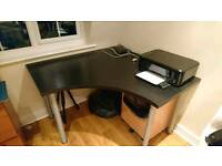 Desk and office Chair for free