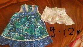 Boundle of girls clothes 9-12 m