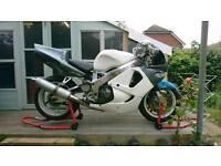 Honda cbr 900 track bike