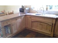 BESPOKE HANDMADE KITCHEN (USED)