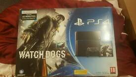Brand new Ps4 with camera and 3 month membership to playstation plus, and £25 Playstation store