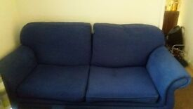 FOR sale blue sofa