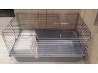 Guinea pig or hamster cage