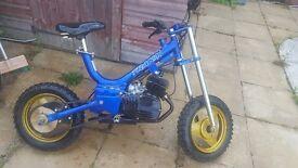 Traka t60 60cc 2stroke offroad dirtbike
