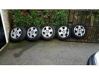 Mondeo mk 3 estate wheels x5