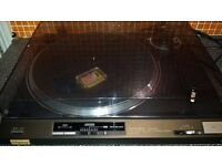 Technics SL-QX200 - Quartz Direct Drive Semi Automatic Turntable - Cast Metal Base - VGC