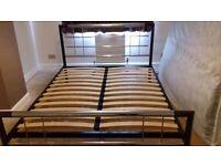 Metal Kingsize bed