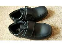 Boys black shoes, size 9