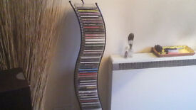 CD Collection 60+ 'TOP ARTIST'S' + Lovely CD Rack-Fantastic Mix.
