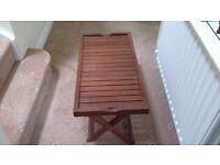 HABITAT FOLD-UP TABLE