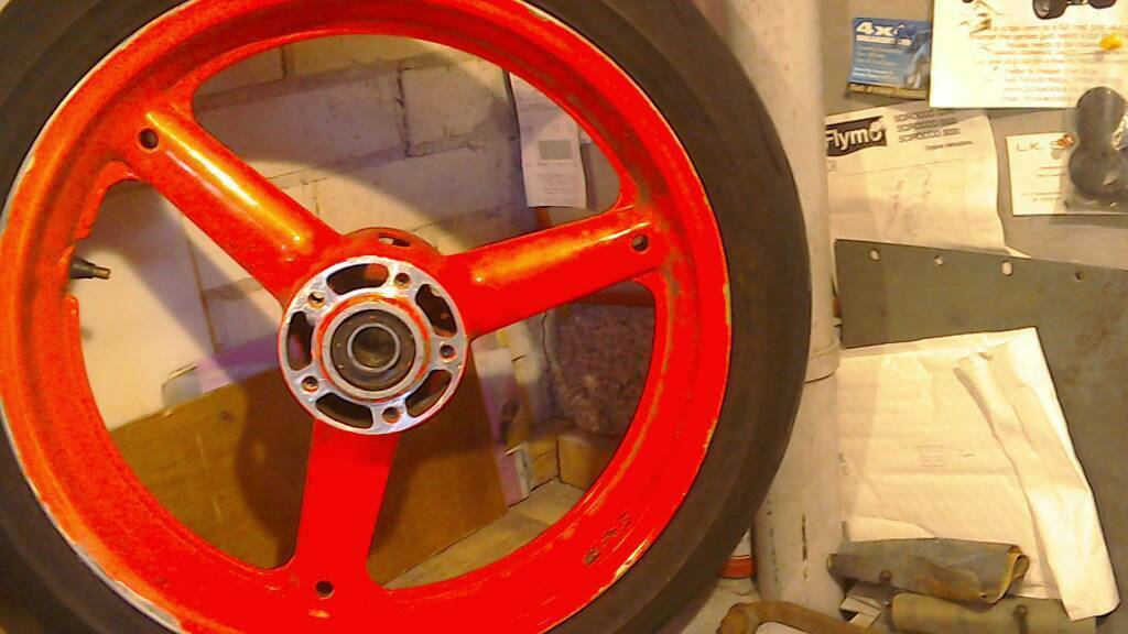 Gsxr srad wheels