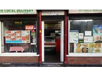RUNNING TAKEAWAY OFF HAGLEY ROAD NEAR CITY CENTRE FOR SALE