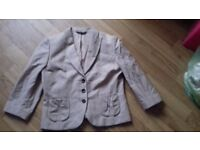 Laura ashley cream jacket