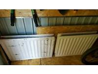 2x Central Heating Radiators