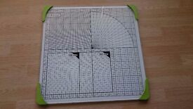 Tonic Studios Glass cutting mat for card making crafting