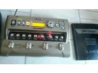 Line 6 JM4 Looper UNUSED with carry case psu and manual