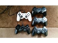 boxed ps3 perfect working order, 4 controllers, 40+ games, everything in pics! 400gb hd, cables, all