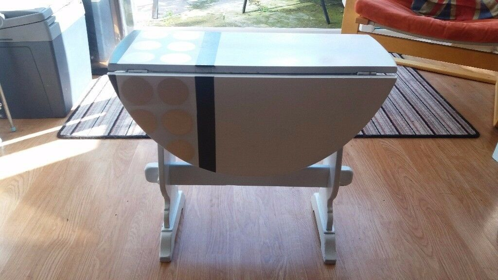 Small folding occasional table