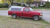 96 Ford F150XL with canopy