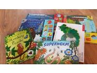 Selection of young reading books