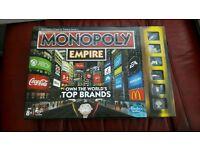 Brand New Modern Monopoly Board Game