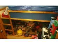 Kids bed (ikea kura)