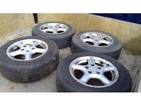 VW Transporter T4 load rated genuine van wheels.