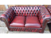 2 seater chesterfield sofa