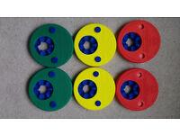 6 x Delphin Swim Discs