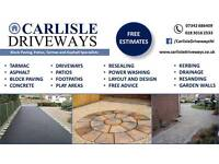Driveway and Patios Installation and Maintenance