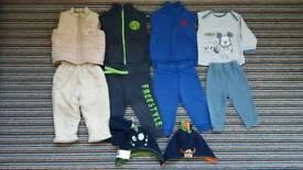 9-12 months boys bundle - warm clothes, hats, gloves
