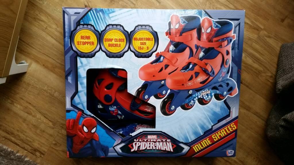 Ultimate Spiderman Inline Skates BNIB