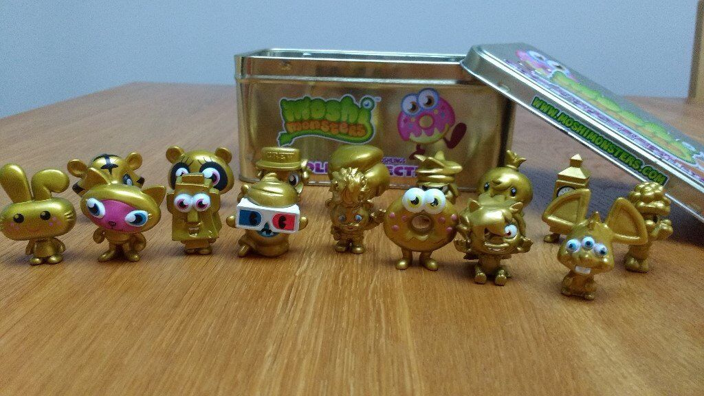 Moshi Monsters Gold Collection Tin Limited Edition 2