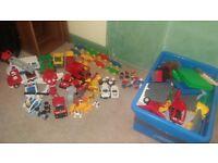 Huge box of Duplo Lego