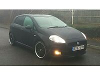 Fiat Grande Punto 1.4i Auto Sport 5 Door 43000 Miles Long MOT FSH HPI clear Factory Sport Body kit