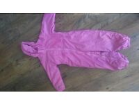 Girls Regatta puddle suit age 3-4