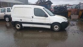 2007 CITROEN BERLINGO 600 HDI ENTER 75, 1.6 DIESEL, BREAKING FOR PARTS ONLY, POSTAGE NATIONWIDE