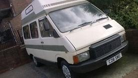 Renault Trafic 4 berth camper van