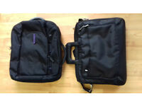 !_(£20)Samsonite Laptop Business Case/backpack with handles+DELL (Brand new) Laptop Business Case_!.