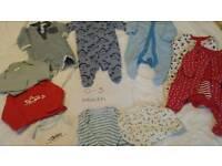 Baby boy clothes bundle 0-18 months