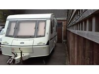 Crown regent 5 berth caravan. Family owned from new. Complete with all equipment to start touring.
