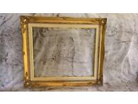 Ornate large picture frame