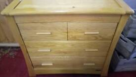 Mamas & Papas baby change chest
