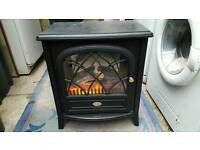 Wood effect electric fire
