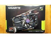Gigabyte GTX 750 Ti 2GB (NVidia) graphics card - good condition