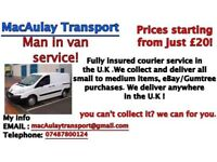 Fully Insured Courier Service