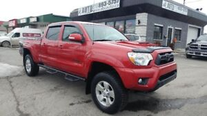 2015 Toyota Tacoma ONE OWNER! LOW Kms 4X4,TRD PKG Double Cab